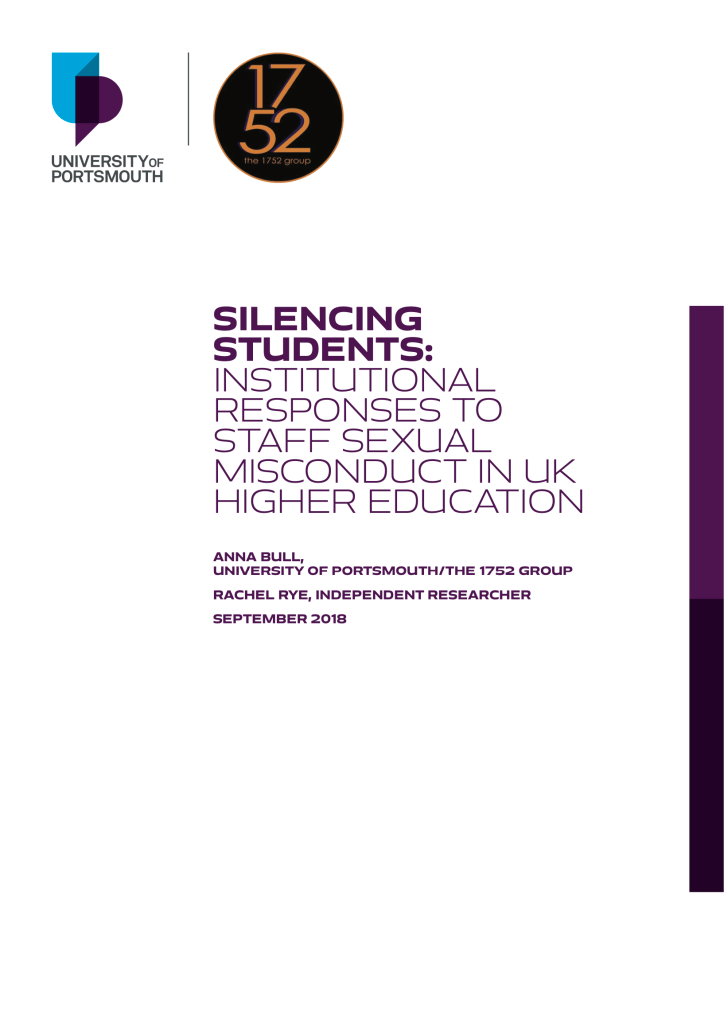 Front Cover of Silencing Students Report
